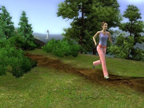Simulation Die Sims 3: Jogging ©Electronic Arts