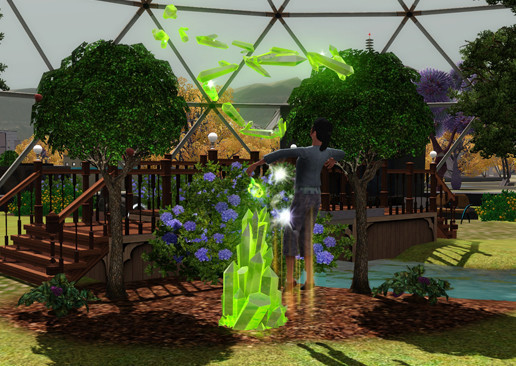 Simulation Die Sims 3 – Lunar Lakes: Exotisch ©Electronic Arts