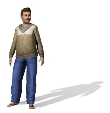 Simulation Die Sims 3: Mann ©Electronic Arts