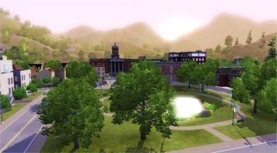 Simulation Die Sims 3: Morgen ©Electronic Arts