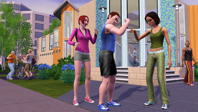 Simulation Die Sims 3: Muskelspiel ©Electronic Arts