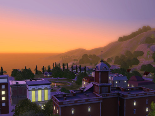 Simulation Die Sims 3: Sonnenuntergang ©Electronic Arts