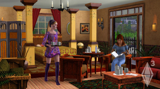 Simulation Die Sims 3: Wohnzimmer ©Electronic Arts