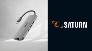Günstiges Saturn-Angebot: USB-C-Multi-Adapter von Sitecom©iStock.com/Rawpixel, Saturn