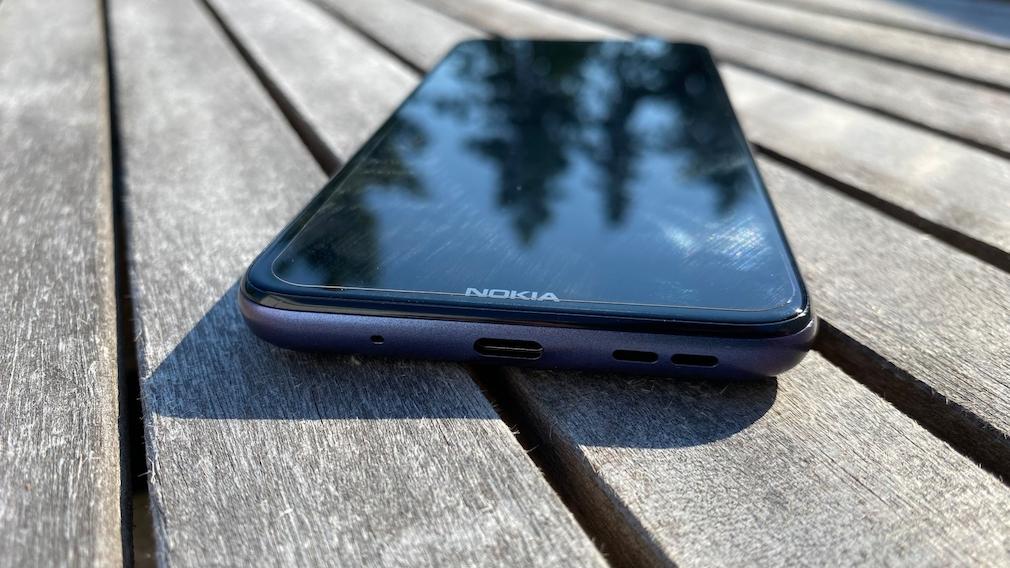 Nokia G10 Anschlüsse unten
