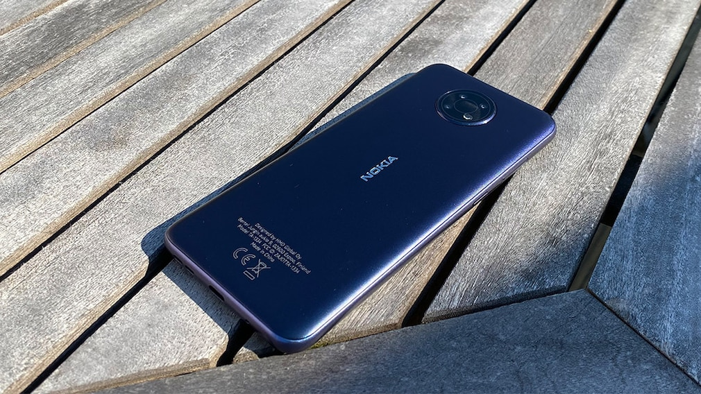 Nokia G10 von hinten