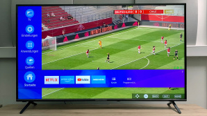 Medion X16566 im Test: Großes Bild und gute Ausstattung mit Netflix, Amazon und mehr.©COMPUTER BILD