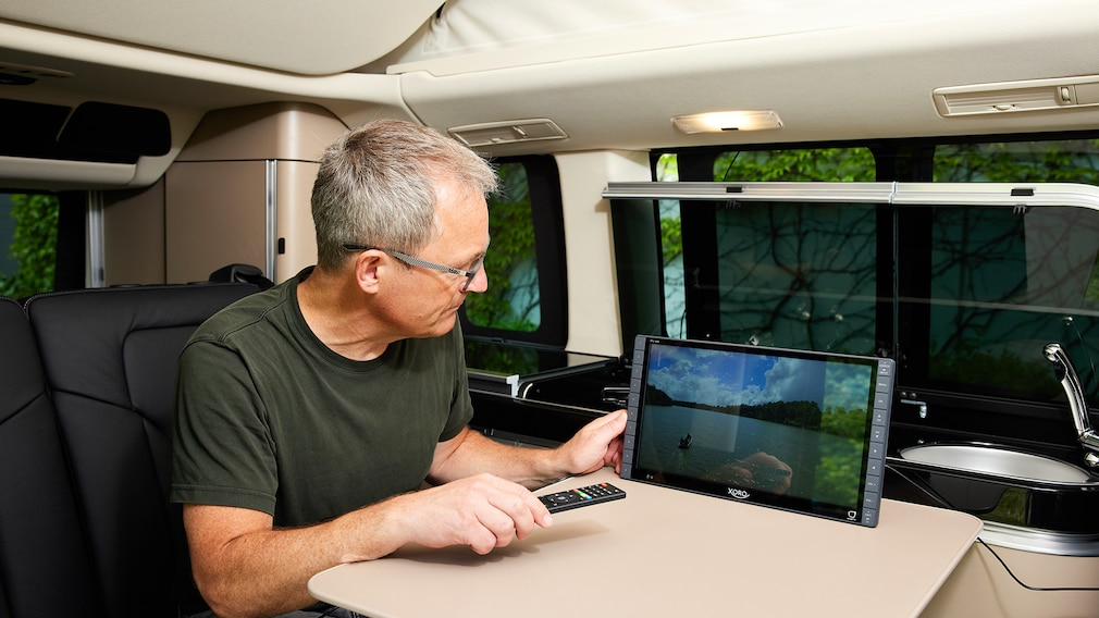 Der Xoro PTL1450 zeigt ordentliche Bildqualität und empfängt stressfrei per Antenne.
