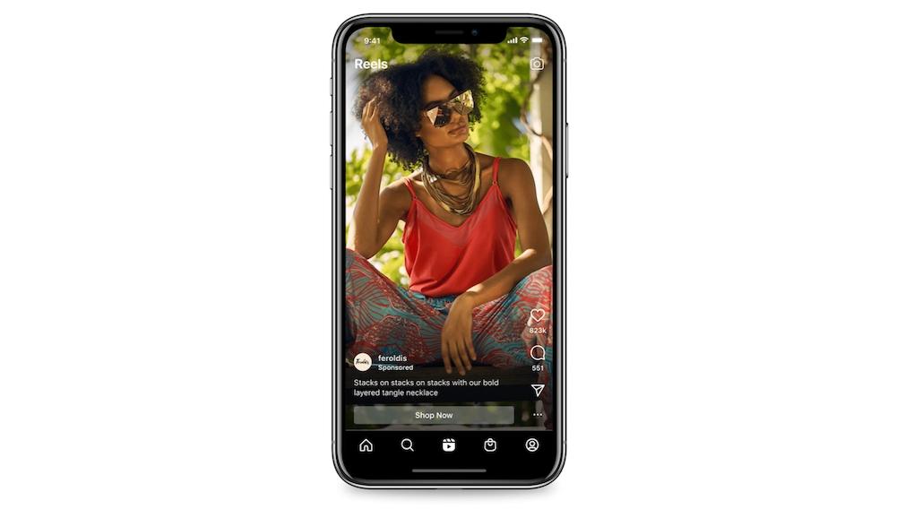 Instagram: Werbung im Reel