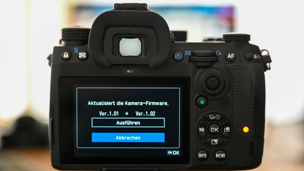 Pentax K-3 III festes Display