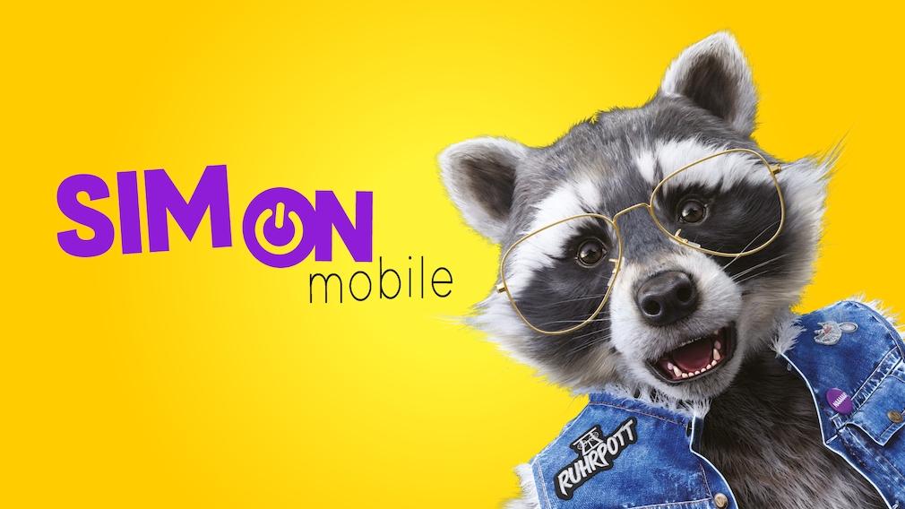 Simon, das Maskottchen von SIMon mobile