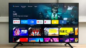 Xiaomi Mi TV P1 im Test: Der Fernseher arbeitet mit Android TV 10.©COMPUTER BILD
