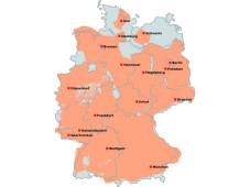 dab abdeckung deutschland karte Digitalradio über DAB, Satellit, Kabel, Interempfangen   AUDIO  dab abdeckung deutschland karte