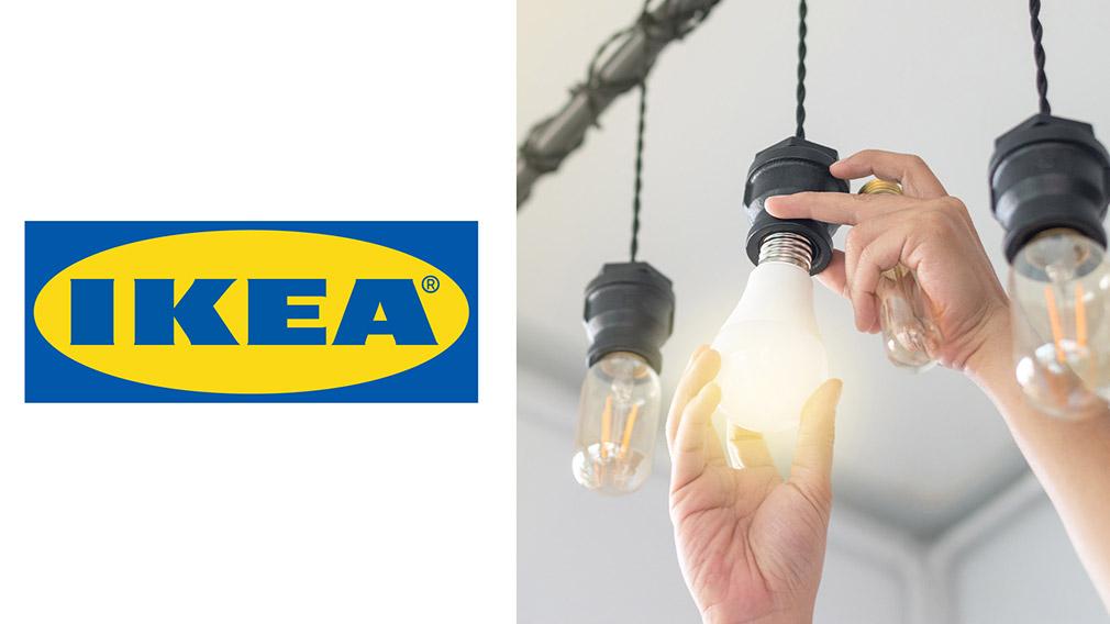 IKEA-Lampen