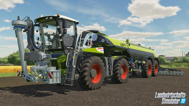 Landwirtschafts-Simulator 22, CLAAS Xerion Saddle Trac©Giants