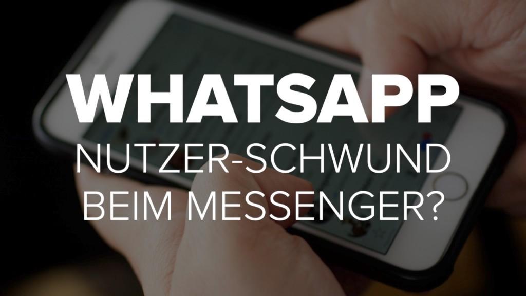 WhatsApp: Nutzer-Schwund beim Messenger?
