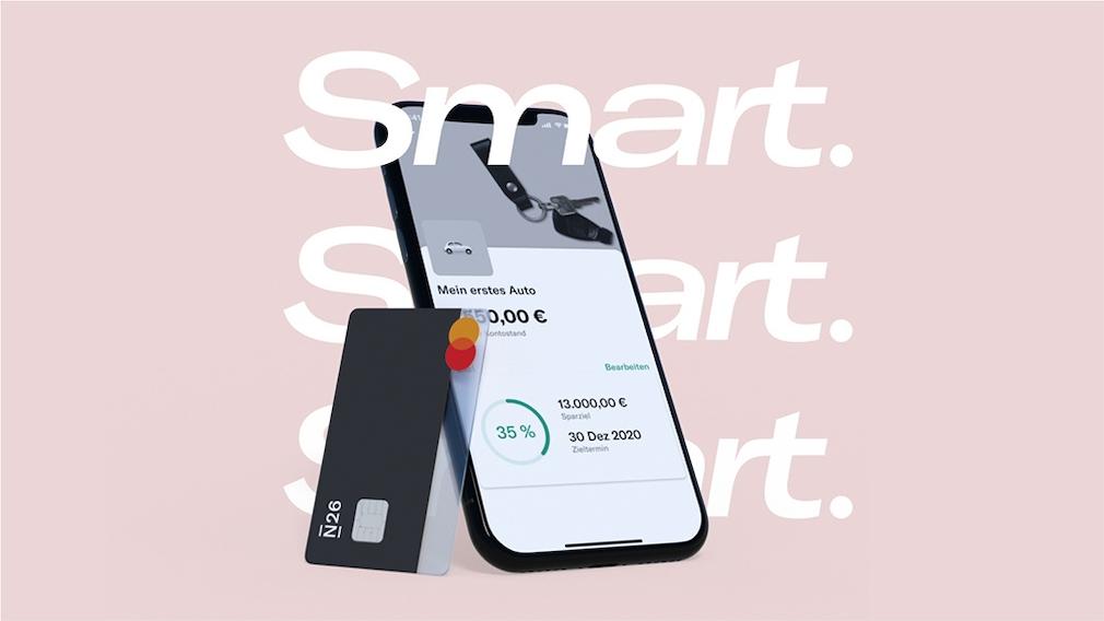 N26-App auf einem Smartphone