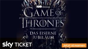 Mit Sky Ticket alle Staffeln von Game of Thrones g�nstig streamen.©Sky