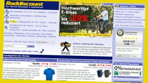 Spar-Deal bei Raddiscount mit Online-Gutschein©Screenshot Online-Shop Hersteller