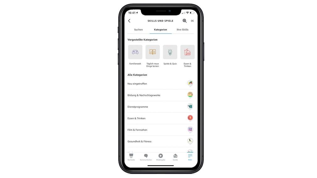 Amazon Echo Show 8 (2021) im Test: Skills