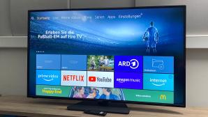 HomeX  UA55FT5505 im Test: Dank eingebautem Fire-TV mit Alexa sehr smart.©COMPUTER BILD