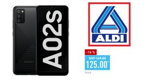 Samsung Galaxy A02s bei Aldi Nord©Aldi Nord