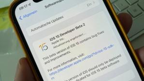 iOS 15 Developer Beta 2©COMPUTER BILD