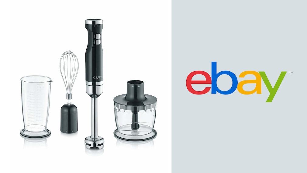 Stabmixer bei Ebay im Angebot: Set von Graef besonders günstig