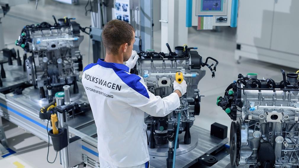 Motorenfertigung VW