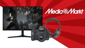 Media-Markt-Angebote: Die Top-Schnäppchen aus den Breaking Deals©Media Markt, Lenevo, JBL, Canon, iStock.com/Igor_Vkv