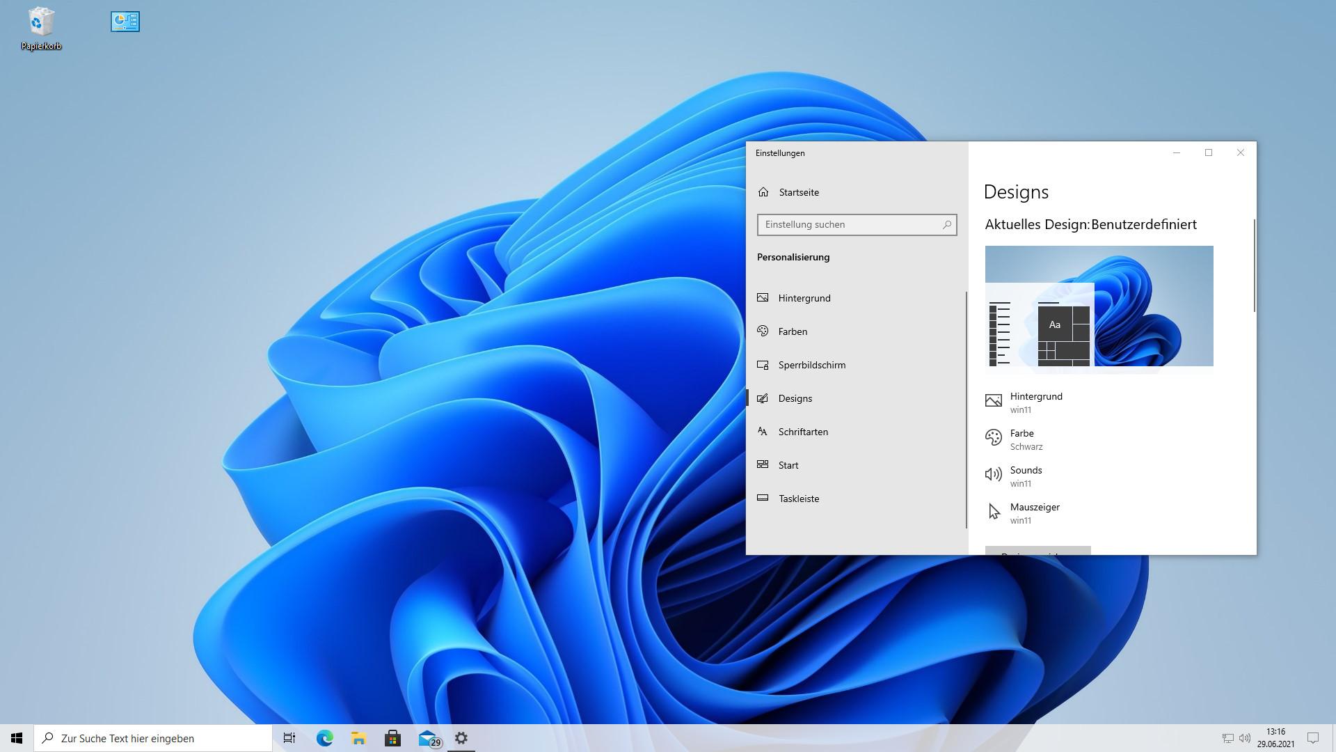 Screenshot 1 - Windows 11 Skin Pack