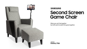 Samsung Second Screen Game Chair©Samsung
