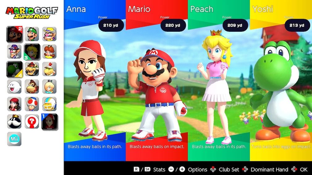 Mario Golf – Super Rush