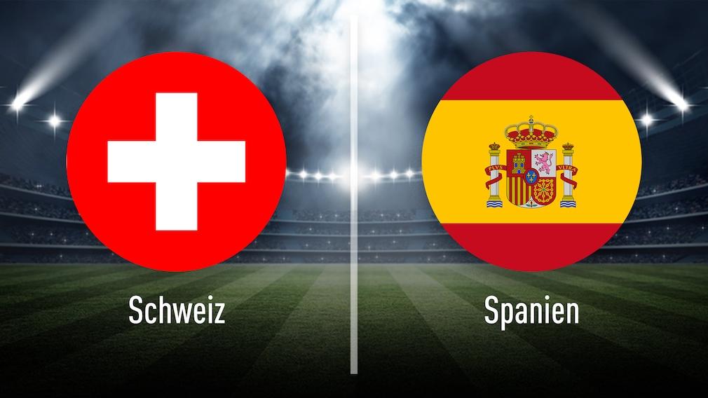 EM-Achtelfinale Schweiz gegen Spanien: Tipps, Prognosen, Quoten