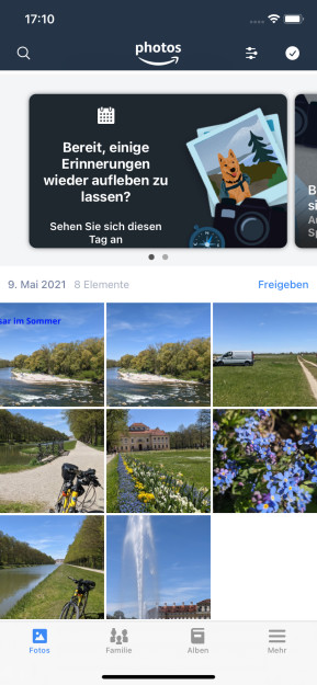 Amazon Photos (App für iPhone & iPad)