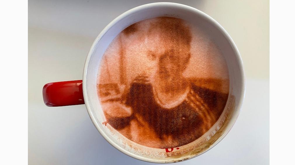 Evebot Fantasia Kaffee Motiv Drucker RF-EV-01: Test