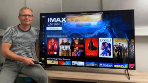 Sony X90J im Test: Der Fernseher �berzeugte mit gutem Bild f�rs Geld � und mit Gratis-Filmen.©COMPUTER BILD
