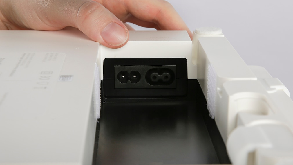 IKEA Symfonsik im Test: Stromanschluss