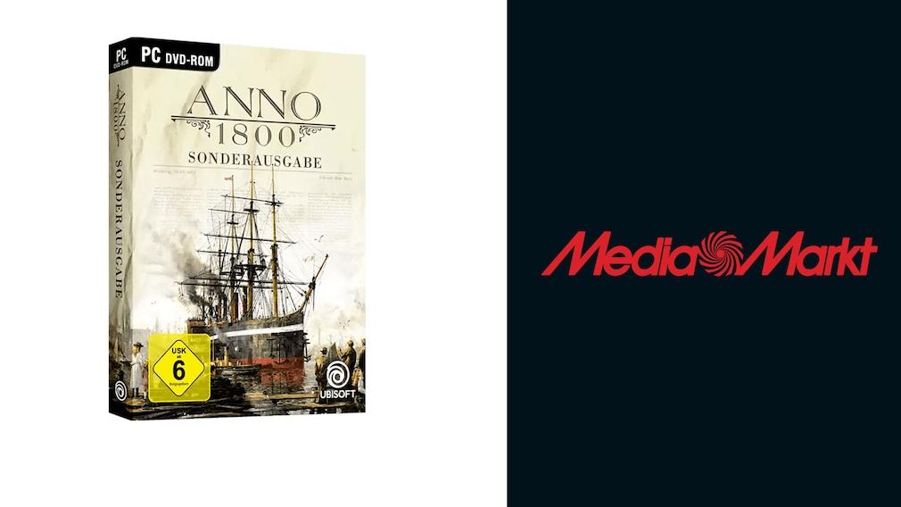 Spiel-Deal bei Media Markt: Sonderausgabe von Anno 1800 günstiger