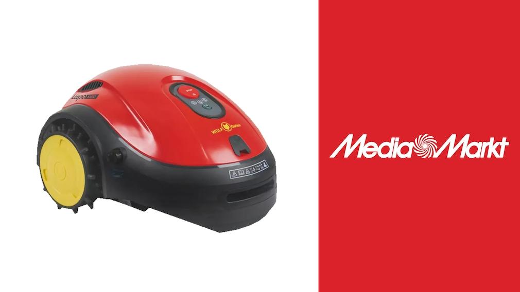 Mähroboter bei Media Markt: WOLF-Garten Loopo S500 Connect reduziert
