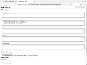 BlockTube für Firefox