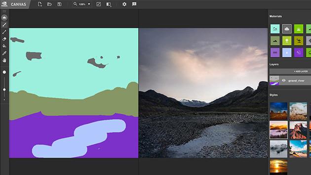 Screenshot 1 - Nvidia Canvas