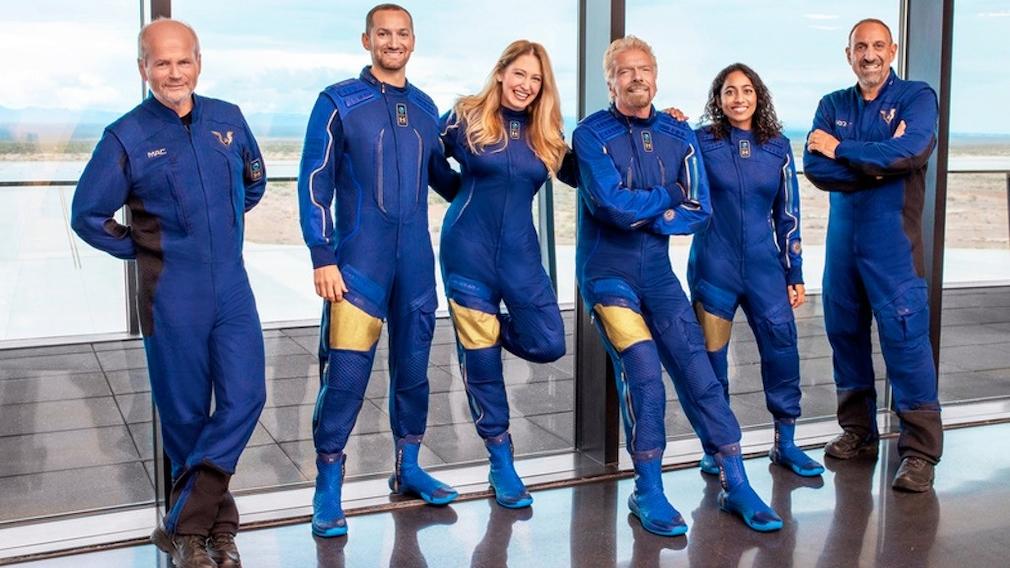 Space team around Richard Branson