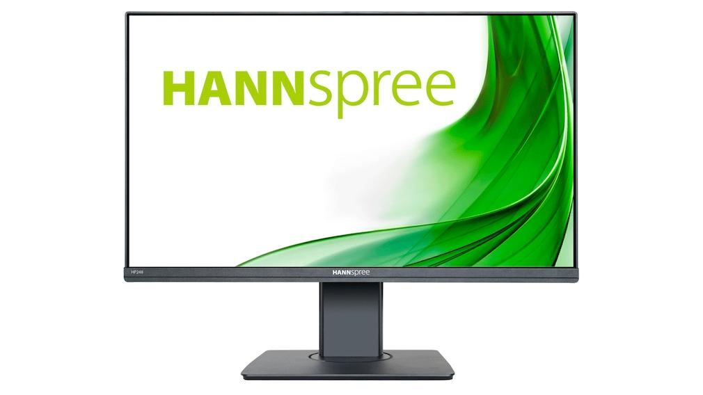 Hannspree HP248WJB: Sehr günstiger Monitor mit Webcam im Test Sieh mal an! Der Hannspree HP248WJB wurde Preis-Leistungs-Sieger unter den Monitoren mit Webcam im COMPUTER BILD-Test.
