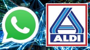 Logos von WhatsApp und Aldi©WhatsApp, Aldi, Montage: COMPUTER BILD