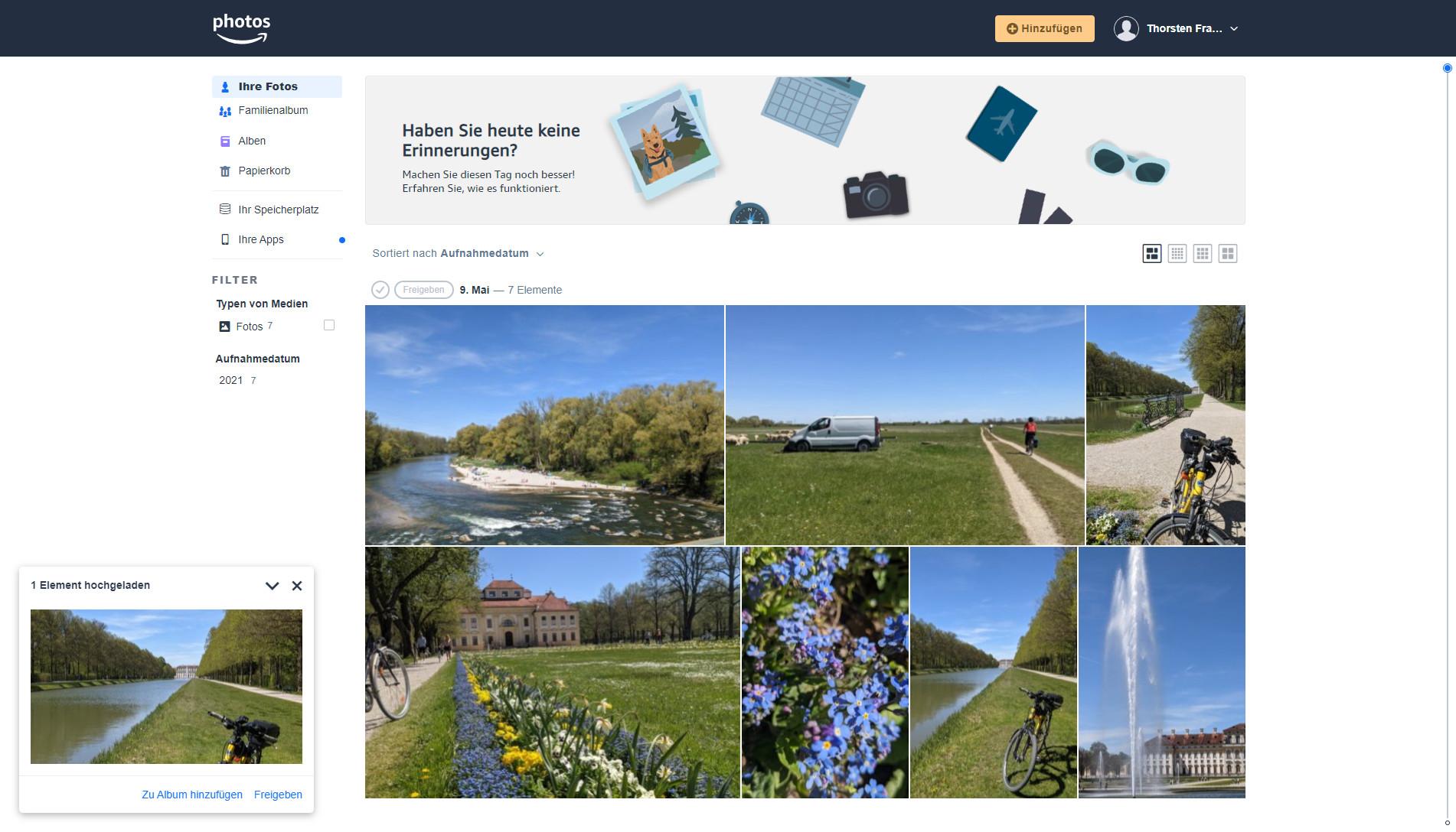 Screenshot 1 - Amazon Photos