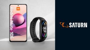 Xiaomi-Smartphone im Saturn-Deal: Redmi Note 10S günstig plus Fitnesstracker gratis©Saturn, Xiaomi, iStock.com/Rawpixel
