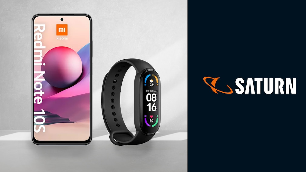 Xiaomi-Smartphone im Saturn-Deal: Redmi Note 10S günstig plus Fitnesstracker gratis