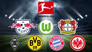 1. Bundesliga©efks-Fotolia.com, DFL Deutsche Fußball Liga GmbH, RB Leipzig, FC Bayern München, Borussia Dortmund, Bayer Leverkusen, Borussia Mönchengladbach, VFL Wolfsburg, Eintracht Frankfurt