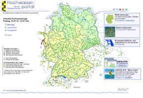 Hochwasser-Karte